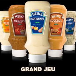 Grand jeu Heinz Sauce