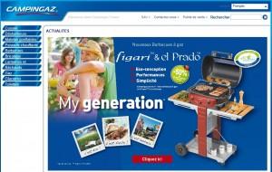 design du site CampinGaz
